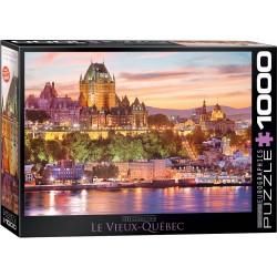 Puzzle 1000 pièces - Le vieux Québec