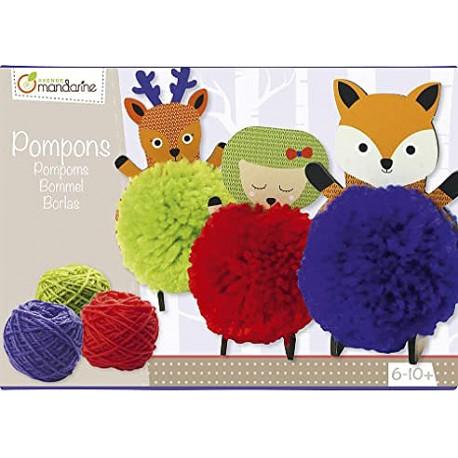 Boîte créative - Pompons