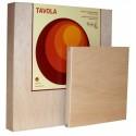 Support en bois lisse, épaisseur 2cm naturel