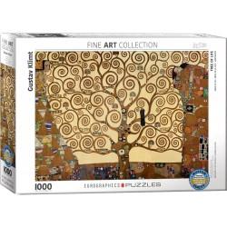 Puzzle 1000 pièces - L'arbre de vie, de Klimt