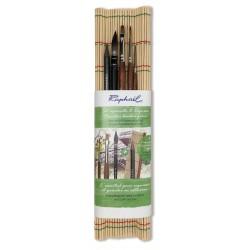 Set natte bambou Aquarelle et Esquisse Raphaël