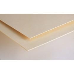 Carton bois 3 mm pH neutre 80x120cm
