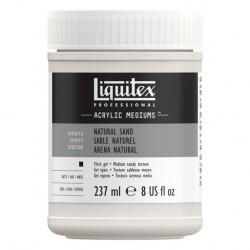 Médium gel de texture sable naturel Liquitex, pot 237ml