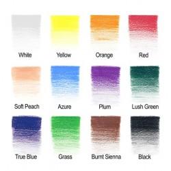 Boîtes de crayons de couleurs permanents Winsor Newton