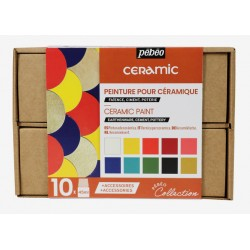 Coffret Collection peinture Ceramic 10x45 ml