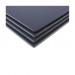 Lots de 4 cartons mousse noir, plaque 50x65cm