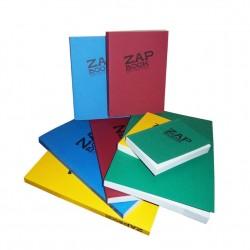 Blocs d'esquisse recyclés Zap Book 80g/m², 160 fls collées