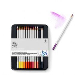 Boîtes de crayons de couleurs aquarellables Winsor Newton