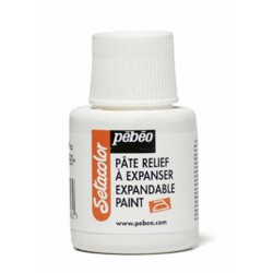 Pâte relief à expanser Sétacolor 45ml