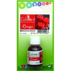 Colorant liquide pour bougie 27ml - Rouge