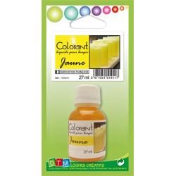 Colorant liquide pour bougie 27ml - Jaune