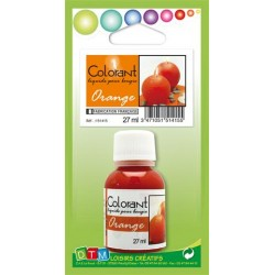 Colorant liquide pour bougie 27ml - Orange