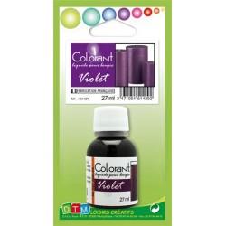 Colorant liquide pour bougie 27ml - Violet