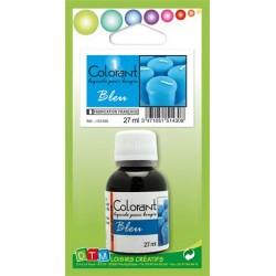 Colorant liquide pour bougie 27ml - Bleu