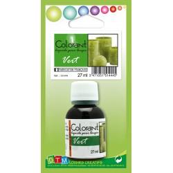 Colorant liquide pour bougie 27ml - Vert