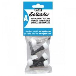 Canules de rechange Sétacolor 3D, sachet x5