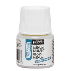 Médium brillant peinture Vitréa 160, flacon 45ml