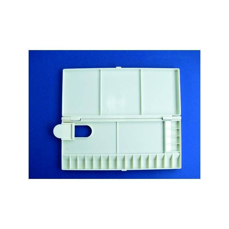 Palette Plastique Pliante Pour Aquarelle 23x11cm