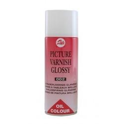 Vernis brillant pour peinture à l'huile, aérosol 400ml