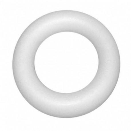 Anneau polystyrène plat 15cm