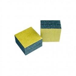 Mini-blocs mousse adhésifs 20x20x13mm - Lot de x4