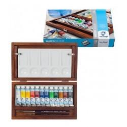 Coffret bois aquarelle Van Gogh x12 tubes 10ml