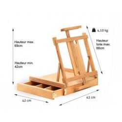Boîte-chevalet de table Matterhorn