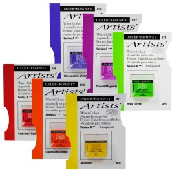 Peinture aquarelle extra-fine Artists', demi-godet 5ml