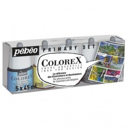 Set encres Colorex 5x 45ml