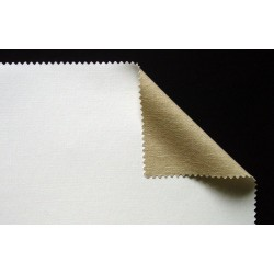 Toile de coton enduite à grain moyen 335g/m², en rouleau