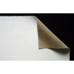 Toile enduite en lin à grain fin 525g/m², en rouleau
