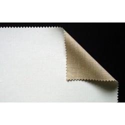 Toile enduite en lin à grain extra-fin 316g/m², en rouleau
