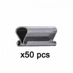 Pinces à sous verre 20x7mm - Sachet x50 pcs