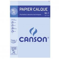 Pochette papier calque 70g/m²