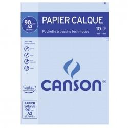 Pochette papier calque 90g/m²