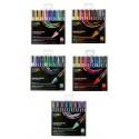Set de 8 marqueurs Posca PC5M assortis