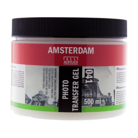 Gel médium de transfert photo Amsterdam 041, pôt 500ml