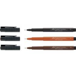 Feutre Pitt Artist Pen F, pointe fine 0.3mm