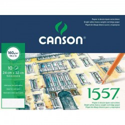 Pochette dessin 1557® JA160g/m² x10 fls