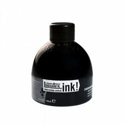 Encre acrylique Liquitex Ink noire, flacon 150ml