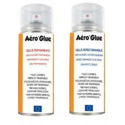 Colle Aéro'Glue No Name, aérosol 400ml