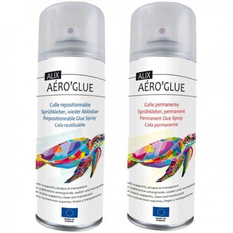 Colle Aéro'Glue No Name, aérosol 400ml