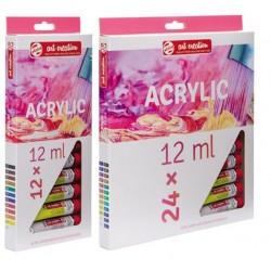 Set de peinture acrylique Art Création x12ml