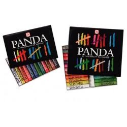 Boîte de pastels gras Panda