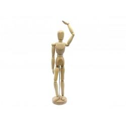 Mannequin articulé en bois - Homme