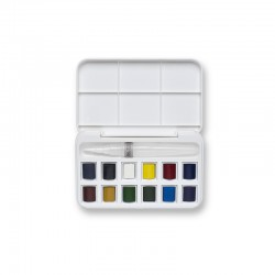 Set aquarelle Cotman + pinceau réservoir
