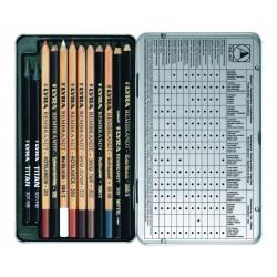 Boîte métal crayons Rembrandt Art Specials