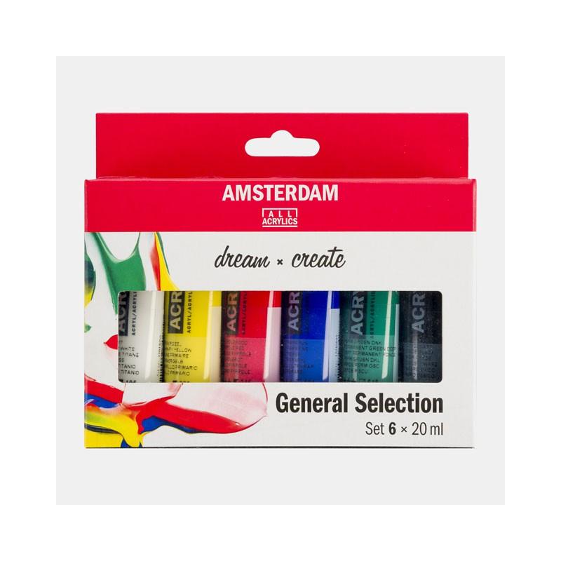 Set Peinture Acrylique Amsterdam 20ml Talens