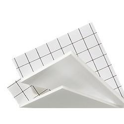 Carton mousse adhésif 10mm, plaque 50x70cm