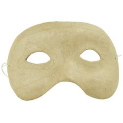 Masque enfant Loup en papier maché - 3x14.5x8.5cm